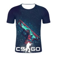 jogos globais venda por atacado-Hot Game 3D T Shirt Dos Homens Das Mulheres Counter Strike Global Ofensivo CSGO Casual Manga Curta Legal Tshirt Engraçado Tees Anime clothing