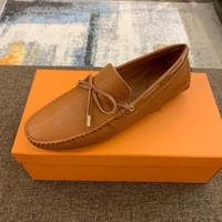 patrón de encaje de zapatos de diseño al por mayor-zapatos de vestir de los nuevos hombres de Oxford zapatos de cuero con cordones de cocodrilo patrón de vestido de diseñador italiano zapatos casuales de los hombres de negocios de tamaño 38-46