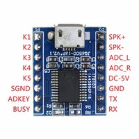 ses modülleri toptan satış-JQ6500 Ses Ses Modülü USB 1 ila 5 Yönlü Bir ila Beş Yönlü MP3 Ses Standardı Değiştirin