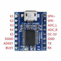 soundmodule großhandel-JQ6500 Voice Sound Module USB Ersetzen Sie 1 bis 5 ein bis fünfwegige MP3-Voice-Standards