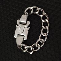 kayış zincirleri toptan satış-19ss Son Metal Zincir ALYX kolye Bilezik kemerleri Erkek Kadın Hip Hop Açık ALYX Sokak Aksesuarları