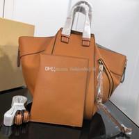 ingrosso pelle di amaca-borsa a spalla in vera pelle di alta qualità con cerniera amaca con rompicapo in metallo dorato con borsa per shopping