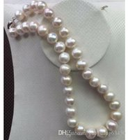 Wholesale huge south sea white pearls resale online - HUGE MM SOUTH SEA WHITE PEARL NECKLACE INCH SILVER CLASP