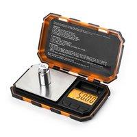 gewichtskalibrierung großhandel-200g x 0,01g Digitalwaage Mini Präzision für Gold Sterling Silber Schmuck 0,01 Ausgleichsgewicht Elektronische Waage 50G kalibrierung Küche