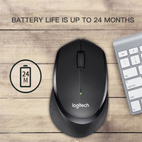 Top Quality M330 Wireless Mouse Silent Mouse with 2.4GHz USB 1600DPI Optical for Office Home Using PC Laptop Gamer DHL Free Shipping
