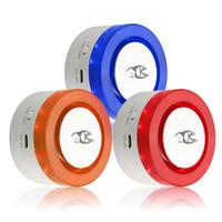 kablosuz otomatik arama alarm sistemi toptan satış-Kablosuz Alarm Siren Kitleri Güvenlik Sistemi Otomatik Arama Akıllı Yaşam App Kontrol Uzaktan Kumanda Ile Çalışır Alexa Google Amazon Ile Uyumlu