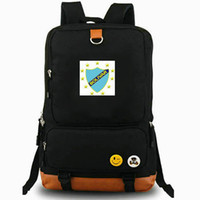 Wholesale la laptop for sale - Group buy Bolivar La Paz backpack Star club day pack Football school bag Soccer packsack Laptop rucksack Sport schoolbag Outdoor daypack