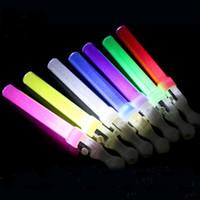 düğün değnekleri sopa toptan satış-26 cm Led Glow Sopa Flaş Sihirli Değnek Işık Sopa Led Değneklerini Rave batons Için DJ Yanıp Sönen parti Düğün Noel Malzemeleri FA2850