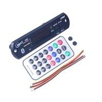 Wholesale mp3 player board module resale online - Car Audio USB TF FM Radio Module Wireless V V MP3 WMA Decoder Board MP3 Player with Remote Control For Car