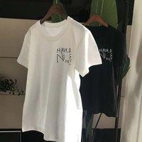 ingrosso bel t-shirt uomo-Nice Day Tshirt per Donna Uomo Adolescente White Black Basic Summer Tshirt Maniche corte Big C TEES