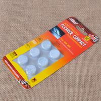 компактные таблетки оптовых-CITALL 6Pcs / pack x 50packs Твердое концентрированное твердое ветровое стекло Мойщик окон Мойщик окон Компактные шипучие таблетки Моющее средство
