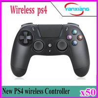 Wholesale PS4 Wireless Game Controller for PlayStation Game Controller Gamepad Joystick Joypad for Video Games without retail box ZY PS N5