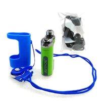 ingrosso vaporizzatore di justfog-Custodia protettiva per cover protettiva in silicone colorato Justfog COMPACT 14 con Sigaretta per vaporizzatore e cordicella. DHL Free