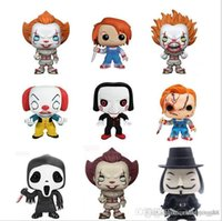 productos de vinilo al por mayor-Good Sales products Sale Funko Pop Multi Stephen King's It Pennywise Vinyl Action Figure With Box # 622 Popular Toy Good Quality