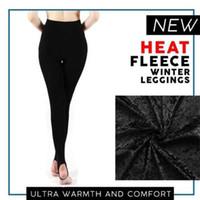 aa27905ff9df6 fleece lined leggings Australia - Women Heat Fleece Winter Stretchy Leggings  High Waist Warm Fleece Lined