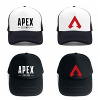 Wholesale popular hats for women online - Apex legends game caps summer mesh fashion outdoor baseball cap hip hop hat popular sun hats for man women AAA1859