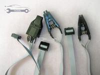 eeprom соединители оптовых-OBD2 Диагностический кабель Универсальный DIP-8CON SOIC-14CON и SOIC-8CON Набор CLIP EEPROM Разъемы