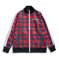 jaqueta de designer unissex venda por atacado-Mens Designer Sweathshirt para Street Wear Jaquetas para Casal Casaco Casaco Xadrez Casual Moda Tops Roupas Masculinas Moda Unissex Roupas 01