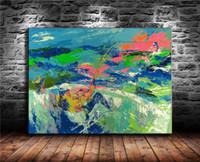 modern balık tutma dekoru toptan satış-Balıkçılık, Tuval Boyama Oturma Odası Ev Dekor Modern Duvar Sanatı Yağlıboya