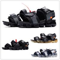 ingrosso vapori in vendita-I più venduti Vapors da uomo Nero bianco donna unisex infradito in sughero pantofole moda sport estivi sandali casuali euro 36-45