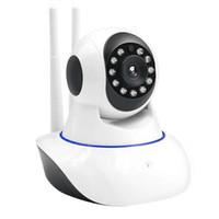 mode vidéo moniteur bébé achat en gros de-Full HD 1080p Détection de mouvement Dôme de surveillance intérieure Caméra Night Vision Système de moniteur audio vidéo pour bébé