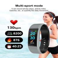 relógios de pulso venda por atacado-Hot sellSmart Wrist F6 Homens Mulheres Monitor de Freqüência Cardíaca Pressão Arterial Rastreador De Fitness Smartwatch Esporte Relógio para ios android celulares 1ps / lote