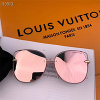 Wholesale holiday sunglasses resale online - Stylish men women driving casual sunglasses holiday outdoor essential sunglasses sunglasses with box TRY