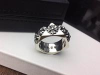 ingrosso anelli di moda per le signore-Popolare marchio di moda CH designer di anelli incrociati per donna Design uomo e donna Feste di matrimonio Amanti regalo Gioielli hip-hop di lusso