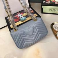 çanta zincirleri toptan satış-Tasarımcı çanta tote kadınlar için zincir tek omuz çantası Klasik Crosbody Messenger çanta Fransa paris tarzı çanta alışveriş çantası tote
