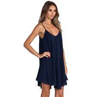 47d25459cb Wholesale plus size nighties for sale - Ladies Sexy Night Dress Sleeveless  Nighties V neck Nightgown