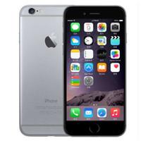 caixas de desbloqueio para celular venda por atacado-Original iPhone 6 Desbloqueado Telefone Celular 4.7 polegada 16 GB / 64 GB / 128 GB A8 IOS 11 4G FDD Suporte de Impressão Digital Remodelado telefone