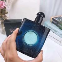 ambientador natural venda por atacado-Saúde Air Freshener 90ml Perfume Eau De Parfum preto e azul para homens e mulheres Fresco Luz Natural Fragrance cheiro bom frete grátis