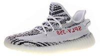 weibliche lauftrainer großhandel-Mens Zebra Kanyewest Kanye West Trainer für Herren Sneakers Männliche Sneaker Damen Laufschuhe Damen Sport Chaussures Man Schuh