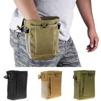 despejo de saco venda por atacado-Saco Tático Molle Tactical Revista Dump Belt Bolsas Bolsa Utility Caça Revista Bolsa ASD88