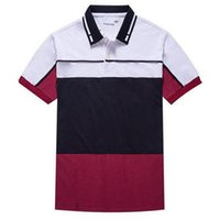 Wholesale polo shirt brands for men for sale – custom La Mens Brand Polo Shirt Colors Turn Down Collar Slim Fit Shirts Short Sleeve Tee for Summer S XL