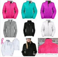 fleecejacke xl großhandel-Neue Winter NF Womens Fleece Osito Jacken Mode Weiche Fleece Warme Dünne Mäntel Outdoor Damen Marke Mens Kinder bomberjacke Frauen Daunenmantel
