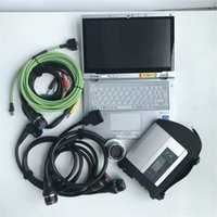 Wholesale car programmers tool best for sale - Group buy Best Quality V2019 soft ware SSD Full Chip MB STAR C4 MB SD Connect Compact Car Truck wifi Diagnostic Tool CF AX2 Laptop