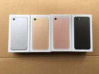 accesorios de embalaje de la caja del iphone al por mayor-Caja de embalaje de embalaje de teléfono de alta calidad para EE. UU. / UE / Reino Unido Para iphone 7 / 7plus Sin caja de paquete de accesorios