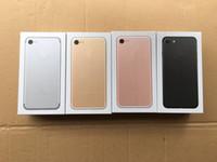 ingrosso scatola di imballaggio di iphone di apple-scatola d'imballaggio dell'imballaggio del telefono di versione degli Stati Uniti / UE / Regno Unito di alta qualità per il iphone 7 / 7plus senza scatola del pacchetto degli accessori