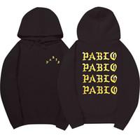 19SS Assc Hip Hop Hoodies Männer I Feel Like Pablo Street