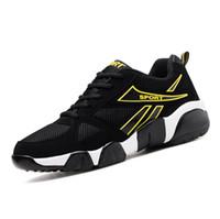 sapatos de qualidade aaa venda por atacado-2020 AAA de alta qualidade voando juventude selvagem moda respirável grife sapatos tênis sneakers tricolor calçado de corrida leve dos homens