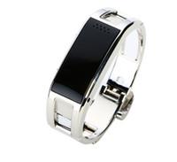 pulseira elegante d8 venda por atacado-Relógio inteligente D8 Bluetooth aptidão Rastreador Camera Smart Reminder pulseira de aço inoxidável Wearable Relógio de pulso Por Android iPhone Telefone