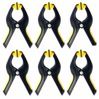 Wholesale 6pcs screen resale online - 6Pcs Inch Plastic Clip Fixture Fastening Clamp For Mobile Phone Tablet Glued Lcd Screen Repair Tools