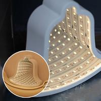 ingrosso fata leggera a letto-LED Fairy Tunnel Lamps 3D Marquee Night Lights Novità di Natale Lampade a campana per scrivania da parete tavolo comodino decorativo Night Light