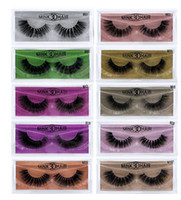 Wholesale thick human hair resale online - Newest D Mink Eyelashes Eye makeup Mink False lashes Soft Natural Thick Fake Eyelashes Extension Beauty Tools styles DHL shipping