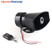 Wholesale police car horn for sale - Group buy Dynoracing V Tones Wireless Electronic Siren Loud Car Warning Alarm dB Police Fire Siren Horn Car ccessories