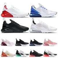 dia luces al por mayor-nike air max 270 Hotsale Zapatillas de running para hombre mujer triple negro blanco tienen un día South Beach Throwback Future zapatillas deportivas tamaño 36-45