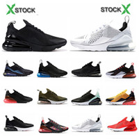 Wholesale running shoes 270 for sale - Group buy with box New shoes Mens Designer Women Running Shoes Sports new mens trainers air running shoes designer sneakers