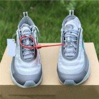 kraliçe satışları toptan satış-2019 Satış 97 Koşu Ayakkabıları OG Menta Koni Kraliçe Siyah beyaz Yeşil Gri 97 s Erkek Kadın Eğitmen Açık Spor Sneakers 36-45