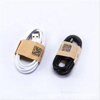 kabeldatenfarbe samsung großhandel-Usb c typ c micro usb kabel 1 mt 3 ft weiß schwarz farbe usb daten ladekabel für samsung s6 s7 rand s8 s9 htc android telefon 7 8 x